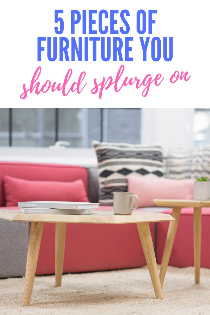 furniture splurges
