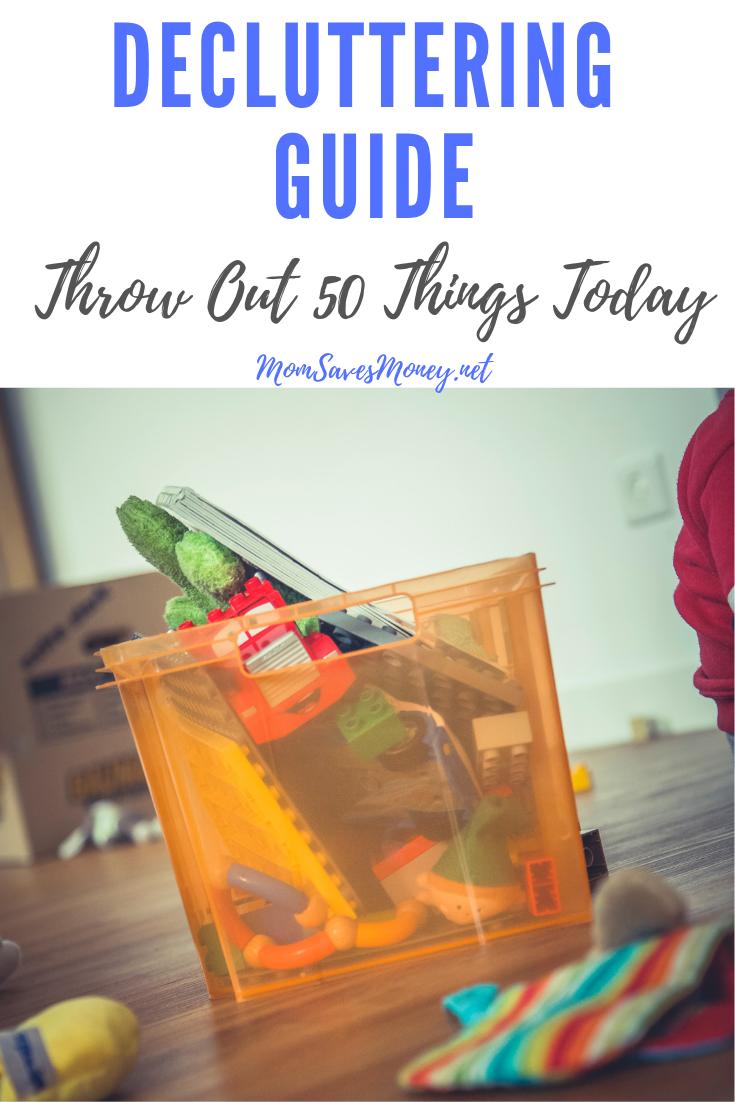 decluttering guide