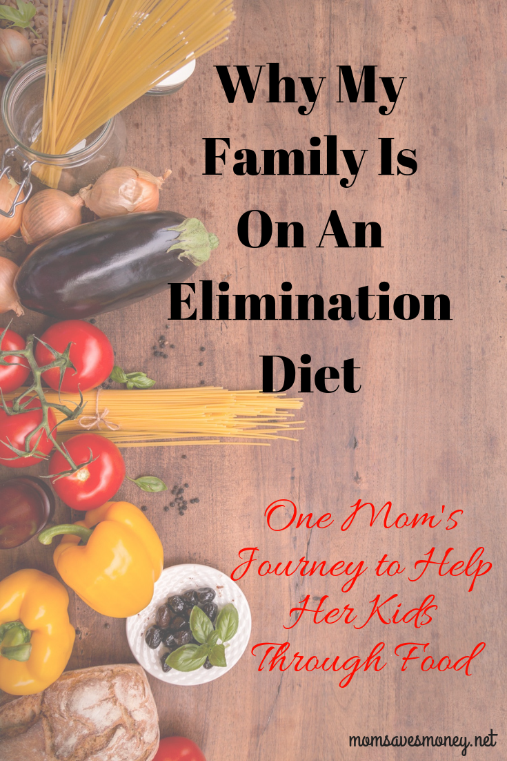 Why My Family Is On An Elimination Diet: One Mom's Journey To Help Her Kids Through Food #foodallergies #foodsensitivities #healthykids #adhd #odd