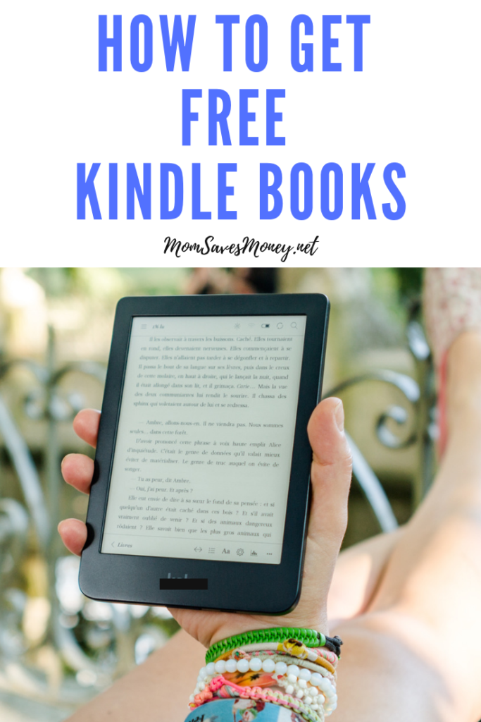 Woman holding Kindle - guide to free kindle books