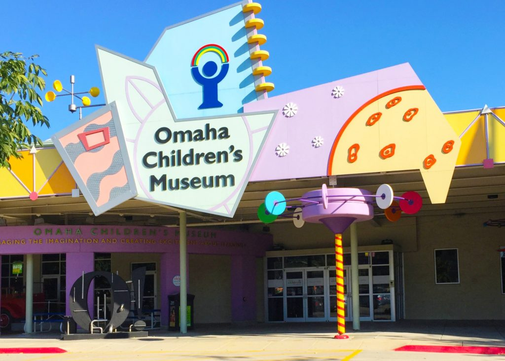 Omaha Children's Museum exterior photo