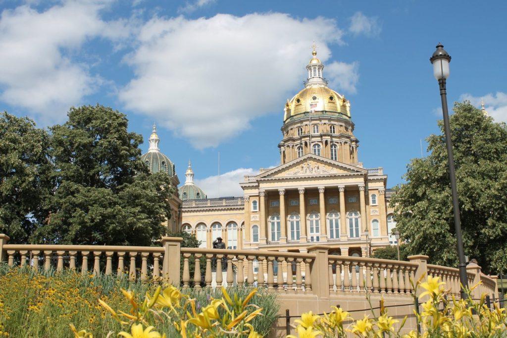 des moines state capitol building