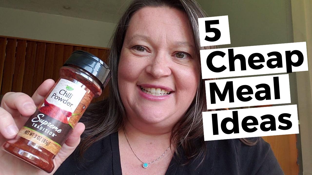 5 cheap meal ideas