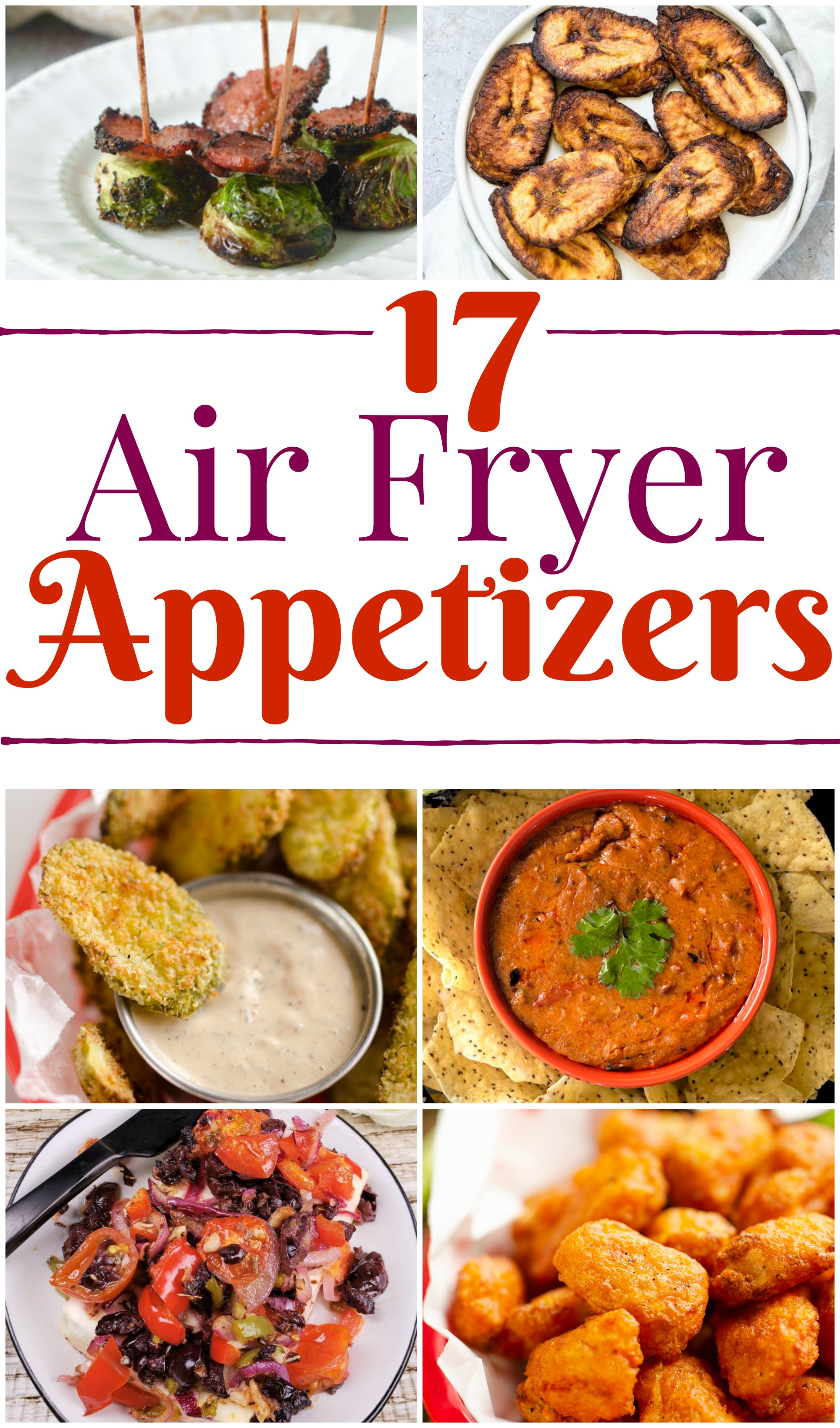 17 air fryer appetizers