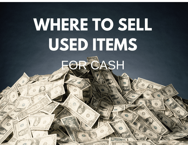 where to sell used items