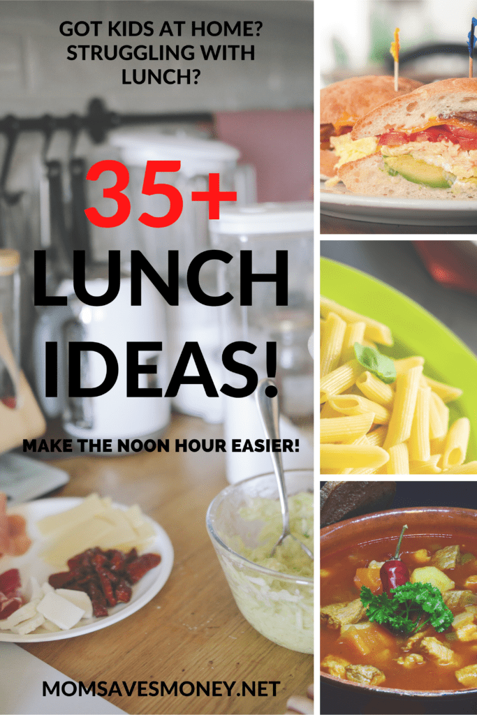 35+ lunch ideas