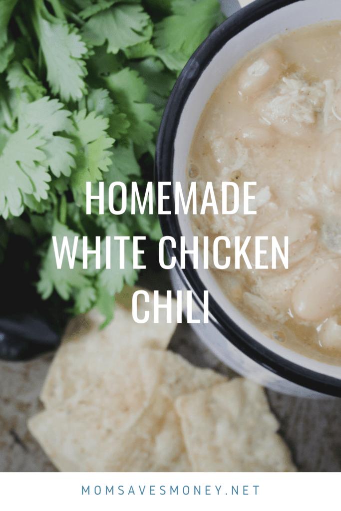 homemade white chicken chili